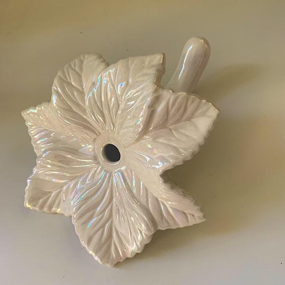 🌸2for$30🌸Ceramic Lusterware Epergne Stem Vase